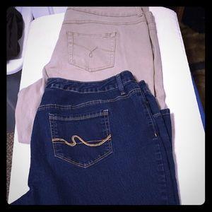 Wins plus size jeans